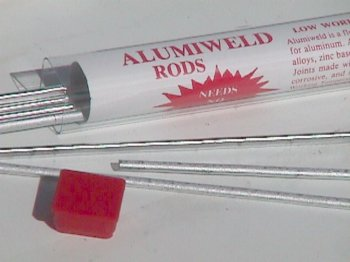 Aluminum repair kits, repair aluminum by welding with a
